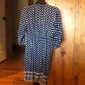 Tops - Longline bohemian dress/tunic style top euc